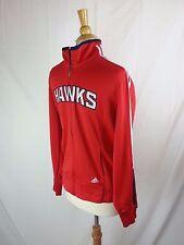 Atlanta Hawks Adidas  Red Full Zip NBA Jacket Large L