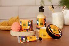 The Body Shop Vanilla Pumpkin Hand Cream, Body Butter, Bath Bomb & Shower Gel