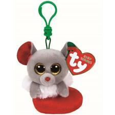 Ty Beanie Babies 35014 Bundles Christmas Key Clip