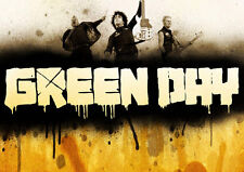 Green Day Glossy A4 260gsm Poster Print
