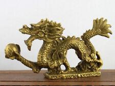 Chinesischer Drache Long Glücksdrache mit Drachenperle Feng Shui China klein