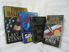 David Baldacci Standalone Novels Lot of 4  Absolute Power ~ The Simple Truth  +2