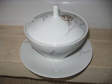 SAUCIERE Porcelaine BAVARIA HUTSCHENREUTHER avec couvercle