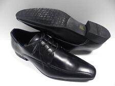 Chaussures de ville noir pour HOMME taille 41 costume de mariage NEUF #GL