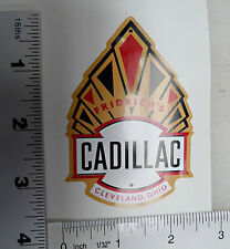 Fridrich's Cadillac bicycle badge decal