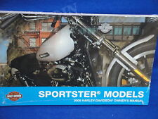 2009 Harley Davidson sportster xl 1200 883 hugger low custom owners manual