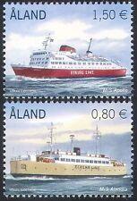Aland 2011 Ships/Ferries/Boats/Nautical/Commerce/Transport 2v set (n41566)