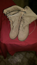 BELLEVILLE, BOOTS HOT WEATHER  DESERT TAN, SIZE 3 1/2 -EXTRA WIDE, NEW.