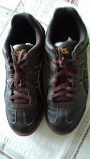ASICS Sneakers baskets homme lacets  41,5 TBE marron chocolat /orange