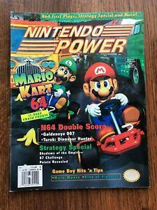 Nintendo Power Magazine Volume 93 February 1997 Attached Poster Mario Kart 64