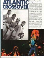 Atlantic Records Magazine Feature