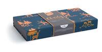 Box of 10 Foil Stags Samaritans Charity Christmas Cards 2 Designs Keepsake Box