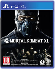 Mortal Kombat XL (PS4) BRAND NEW SEALED PLAYSTATION