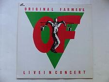 "ORIGINAL FARMER ' S Live in concert DUCK RECORDS 5525 RC III   MAXI 12"""
