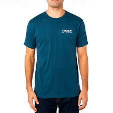 Fox Racing Men's MX Cotton Tee T-Shirt Supercharged Navy Blue Adult XLarge
