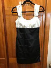 B. SMART Black/White Cocktail Party Dress - Size 9