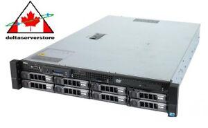 Dell PowerEdge R510 8 Bay 2x 2.66GHz X5550 QC 64GB  w/ H700 RAID All Trays 2x PS