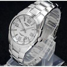 Stainless Steel Oval 100 m (10 ATM) Wristwatches