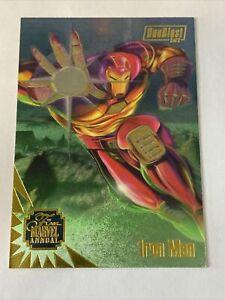 1995 Marvel Annual Flair - DUOBLAST 3of3 - #3 Iron Man War Machine