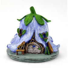 Fairy Garden Mini - Micro Flower House - Campanula - Purple
