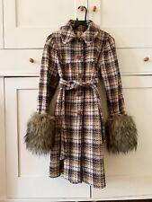 ORLA KIELY  Irish Tweed Hannah Smock Coat UK size 8