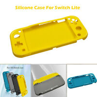 Silicone Protective Half pack Pure colour Case Cover For Switch Lite Console