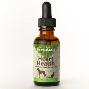 Animal Essentials Heart Health 1 oz | Cardiovascular Support for Dogs and Cats