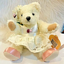 Bianca The Bear Of Love Plush Toy animal Legend Of The Brass Button Collection