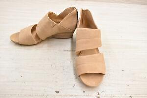 Naturalizer Gabby Dress Sandal - Women's Size 8 W, Tan Leather NEW