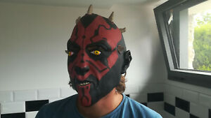 19.9.1.7 Masque Dark maul Darth Star Wars Adulte déguisement Rubie's