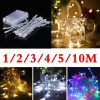 Battery Operated Fairy Lights Flashing Starry Christmas tree GardenDecoration