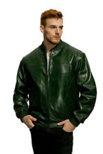 Mason & Cooper Leather Bomber Jacket