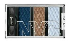 N.Y.C. New York Color TRIO EyeShadow 788 Blues Café SEALED and NEW
