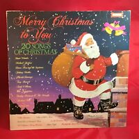 VARIOUS Merry Christmas To You 1984 UK vinyl LP EXCELLENT CONDITION