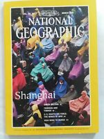 National geographic magazine March 1994 Vol. 185, No.3 Shanghai