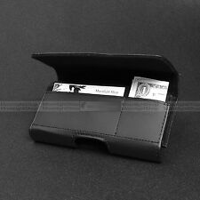 Leather Holster Belt Clip Card Slot Pouch Case For AT&T T-Mobile Smart Phones
