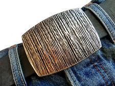 Silber Gürtelschließe Ornament Gürtelschnalle Wechselschnalle Buckle 4cm NEU