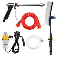 DC 12V 100W 160PSI High Pressure Car Washer Cleaner Water Wash Pump Sprayer Set