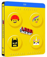 THE LEGO MOVIE - STEELBOOK EDITION (2 BLU-RAY) ANIMAZIONE DIGITALE WARNER