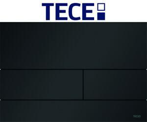 TECE 9240833 square II schwarz matt WC-Betätigungsplatte 2-Mengen-Technik