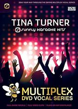 TINA TURNER - SUNFLY MULTIPLEX KARAOKE DVD - 12 HIT SONGS