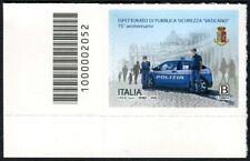 ITALIA 2020: Ispettorato di pubblica sicurezza Vaticano con codice a barre 2052
