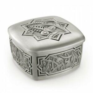 Royal Selangor Hand Finished Atiya Collection Pewter Trinket Box Gift
