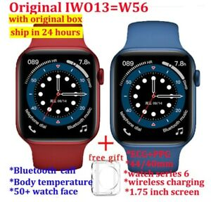 100% Original IWO 13 W56 Smart Watch Men 40mm/44mm Size 1.75'' Display Heart Rat