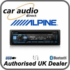 Alpine CDE-203BT - Bluetooth CD MP3 FLAC USB AUX Stereo RDS Tuner iPhone Android