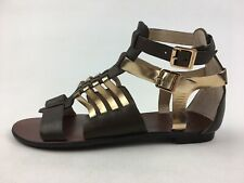 Vince Camuto Jenorra Gladiator Sandals Women's Size 8.5 M, Gold 2936