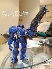 Blizzard StarCraft Star Craft Tychus Findlay Terran Marine Figure Statue Model