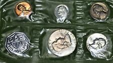 1961 Proof Set including Silver Coins with Nice Toning Beginning