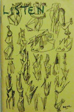 Philip Larkin, Ezra Pound / Listen A Poetry Quarterly Spring 1960 First Edition
