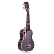 More details for 21 inch rosewood ukulele ukuele built-in 3 band equalizer for kids adult v9v2
